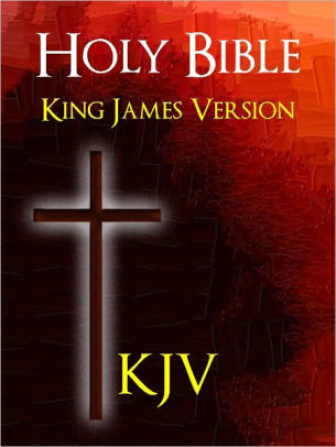 KJV Bible - holy cross